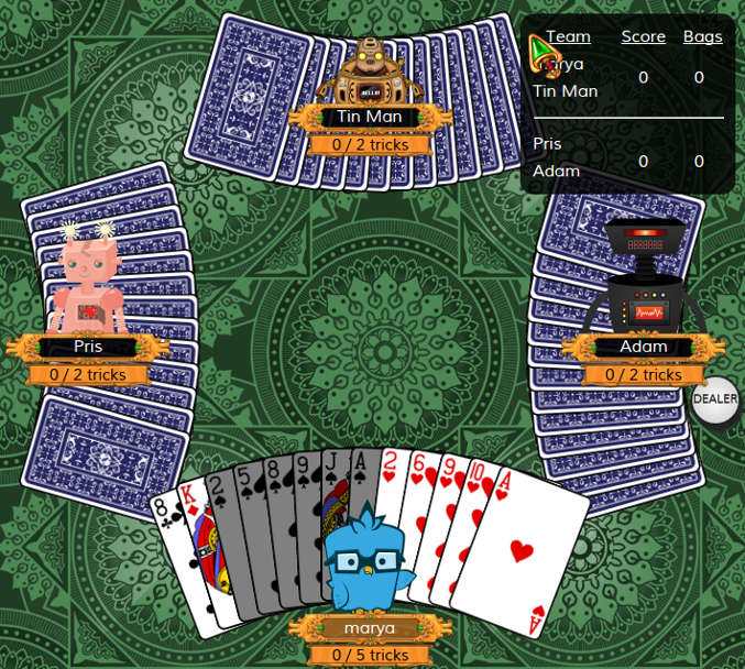 Should I lead with the King of Diamonds?